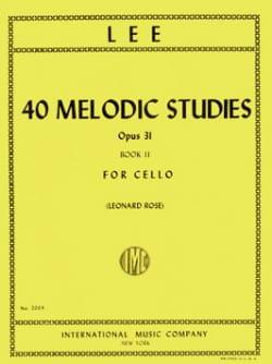 40 Melodic Studies op. 31 - Volume 2 Sebastian Lee laflutedepan