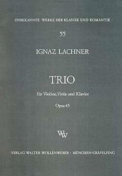Trio op. 45 -Violine Viola Klavier - Ignaz Lachner - laflutedepan.com