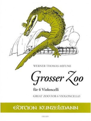 Grosser Zoo - Werner Thomas-Mifune - Partition - laflutedepan.com