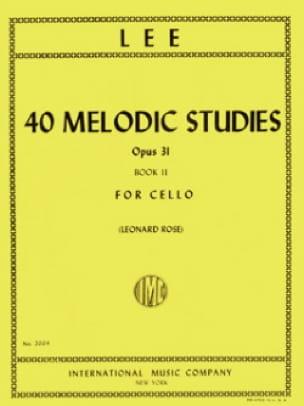 40 Melodic Studies op. 31 - Volume 2 - laflutedepan.com