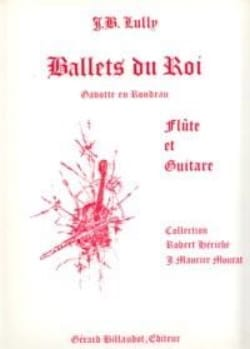 Ballets du Roi - Flûte guitare LULLY Partition Duos - laflutedepan