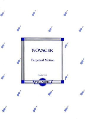 Perpetual Motion - Alto - Ottokar Novacek - laflutedepan.com
