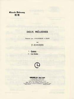 Romance Violoncelle/Piano DEBUSSY Partition Violoncelle - laflutedepan