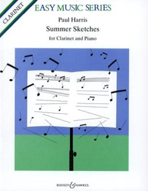 Summer Sketches Paul Harris Partition Clarinette - laflutedepan