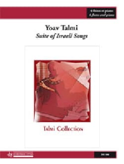 Suite of Israeli Songs Yoav Talmi Partition Quintettes - laflutedepan