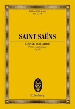 Danse Macabre - Conducteur SAINT-SAËNS Partition laflutedepan