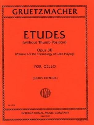 Etudes op. 38 - Volume 1 - Friedrich Grützmacher - laflutedepan.com