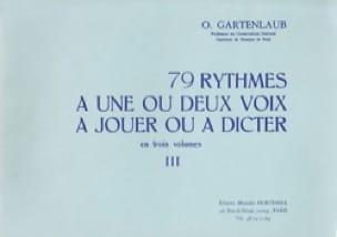 79 Rythmes - Volume 3 - Odette Gartenlaub - laflutedepan.com