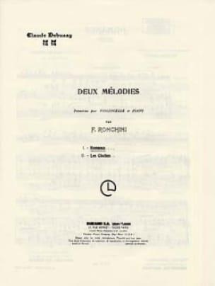 Romance Violoncelle/Piano - DEBUSSY - Partition - laflutedepan.com