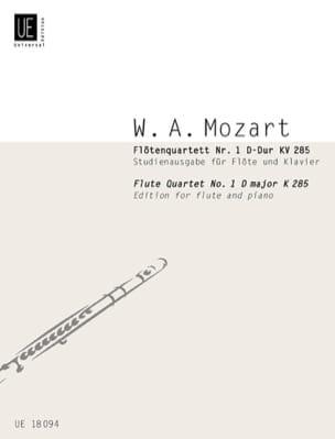 Flötenquartett Nr. 1 D-Dur KV 285 - Flöten Klavier MOZART laflutedepan