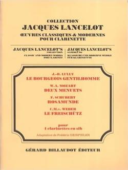 Bourgeois Gentilhomme / 2 Menuets / Rosamunde / Freischütz laflutedepan