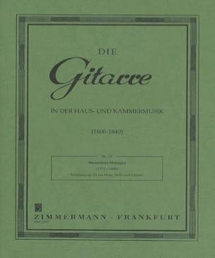 Notturno op. 21 - Flöte Viola Gitarre Wenzeslaus Matiegka laflutedepan