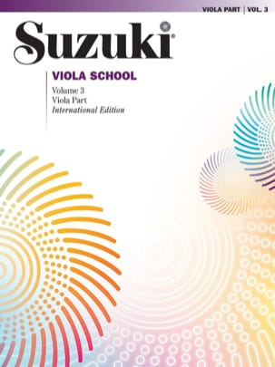 Viola School Vol.3 - Viola Part SUZUKI Partition Alto - laflutedepan