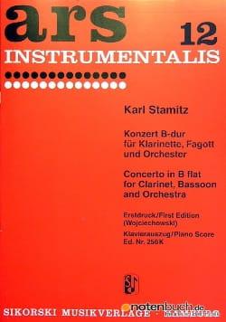 Doppelkonzert B-Dur -Klarinette Fagott Klavier STAMITZ laflutedepan