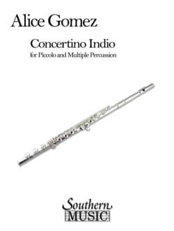 Concertino Indio - Alice Gomez - Partition - laflutedepan.com