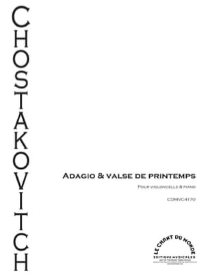 Adagio & Valse de Printemps CHOSTAKOVITCH Partition laflutedepan
