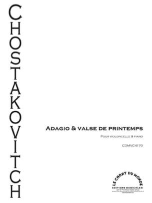 Adagio & Valse de Printemps CHOSTAKOVITCH Partition laflutedepan