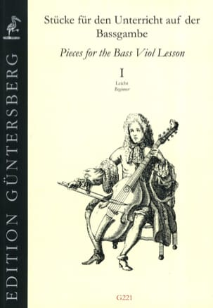 Pieces for the bass viol lesson, vol. 1 beginner laflutedepan