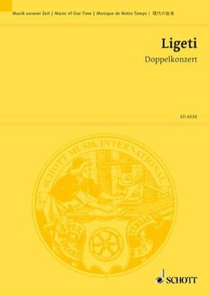 Doppelkonzert 1972 - Partitur LIGETI Partition laflutedepan
