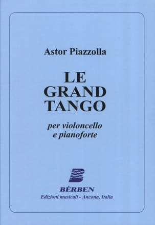 Le Grand Tango - Violoncelle Astor Piazzolla Partition laflutedepan