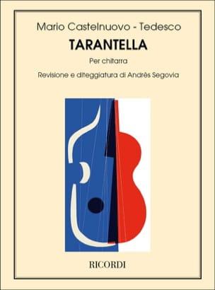 Tarantella - Mario Castelnuovo-Tedesco - Partition - laflutedepan.com