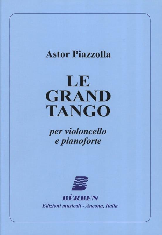 Le Grand Tango - Violoncelle - Astor Piazzolla - laflutedepan.com