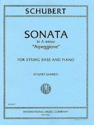 Sonate A min. Arpeggione D 821 - Contrebasse - laflutedepan.com