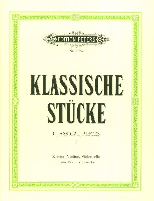Klassische Stücke Bd. 1 - Trio - Carl Hermann - laflutedepan.com