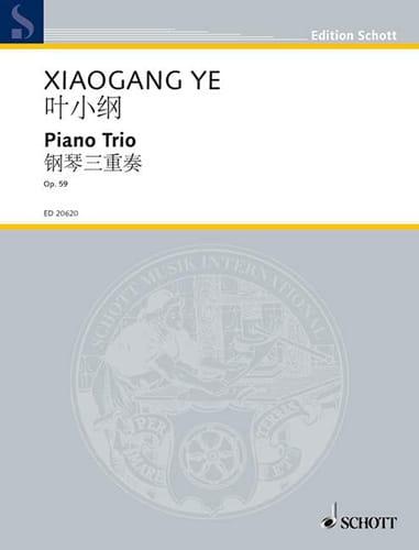 Trio Avec Piano Op. 59 - Xiaogang Ye - Partition - laflutedepan.com