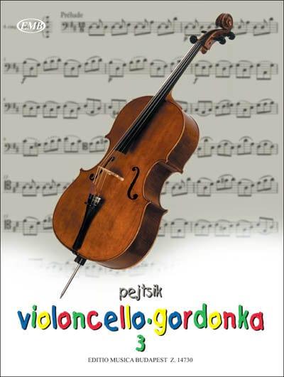 Violoncello Method 3 - Arpad Pejtsik - Partition - laflutedepan.com