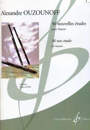 36 Nouvelles Etudes volume 1 Alexandre Ouzounoff laflutedepan