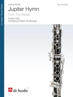 Jupiter Hymn HOLST Partition Clarinette - laflutedepan