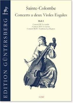 Concerts à 2 violes égales - Volume 1 laflutedepan