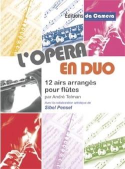 L'Opéra en Duo Partition Flûte traversière - laflutedepan
