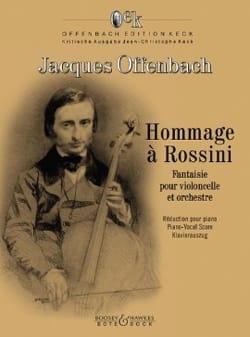 Hommage à Rossini - Violoncelle et Piano OFFENBACH laflutedepan