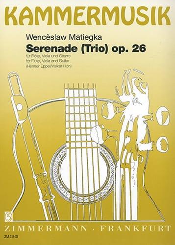 Serenade Trio op. 26 - Flöte Viola Gitarre - laflutedepan.com