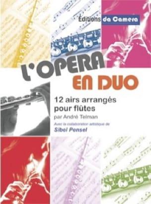 L'Opéra en Duo - Partition - Flûte traversière - laflutedepan.com