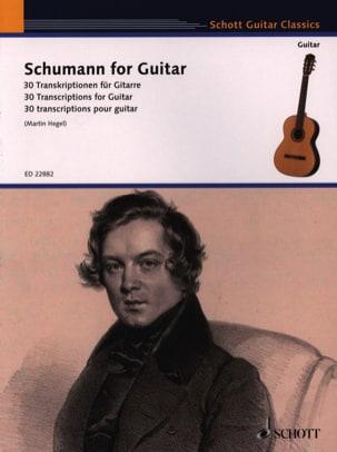 Schumann for Guitar SCHUMANN Partition Guitare - laflutedepan