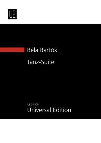 Tanz-Suite - BARTOK - Partition - Grand format - laflutedepan.com