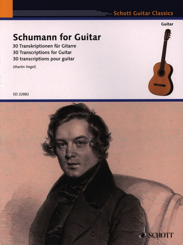 Schumann for Guitar - SCHUMANN - Partition - laflutedepan.com
