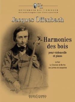 Harmonies des Bois - Violoncelle et Piano OFFENBACH laflutedepan