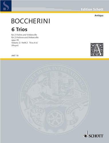 6 Trios op. 35 -Bd. 2 : Nr. 4-6 -Stimmen - laflutedepan.com