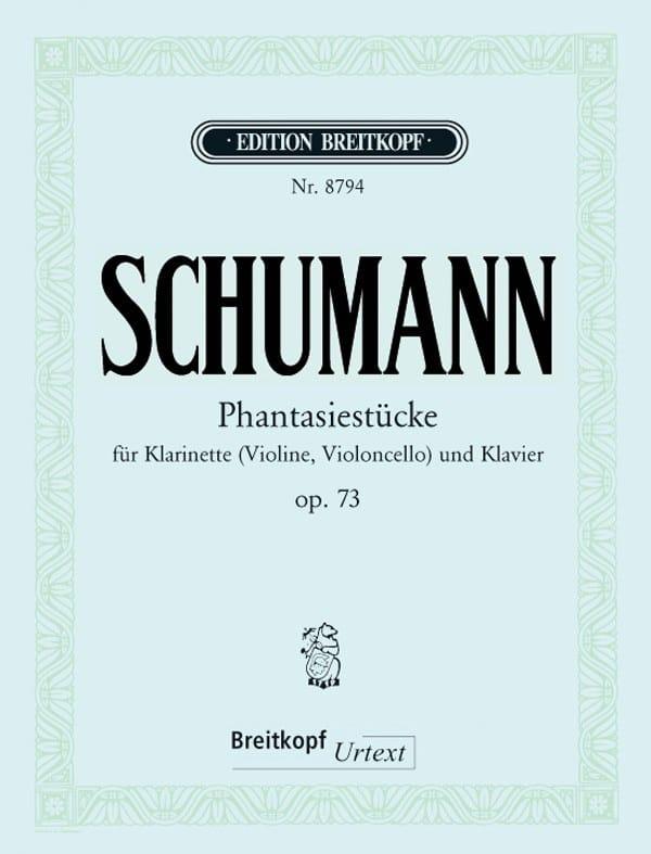 Fantasiestücke op. 73 - Klarinette Violine, Cello Klavier - laflutedepan.com