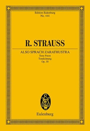 Also sprach Zarathustra Richard Strauss Partition laflutedepan