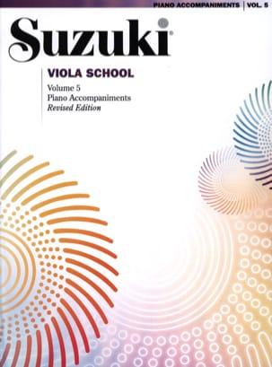 Suzuki - Viola School Vol.5 - Piano Accompaniment - Partition - di-arezzo.com
