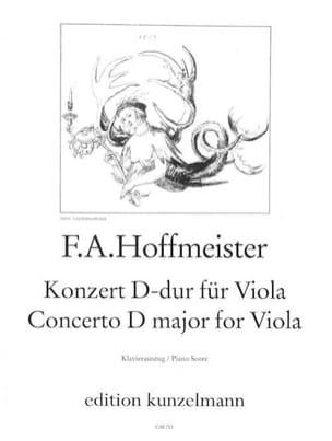 Concerto en Ré Majeur pour Alto HOFFMEISTER Partition laflutedepan