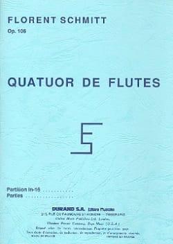 Quatuor de flûtes op. 106 - Parties - laflutedepan.com