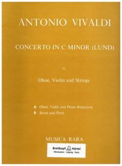 Concerto in C minor Lund -Oboe Violin piano VIVALDI laflutedepan