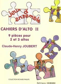 Cahiers d'alto 2 - Claude-Henry Joubert - Partition - laflutedepan.com