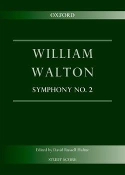 Symphonie n° 2 William Walton Partition Petit format - laflutedepan